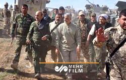 حضور حاج قاسم سلیمانی در میدان مبارزه با داعش