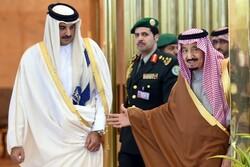 مشارکت امیر قطر در نشست سران کشورهای شورای همکاری خلیج فارس