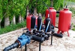 بهره برداری بیشتر از منابع آبی با تجهیزات نوین آبیاری