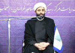 نشست خبری رئیس مرکز رسیدگی به امور مساجد خراسان رضوی