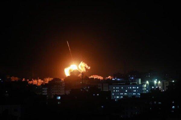 Israeli regime launches missile strike against Damascus