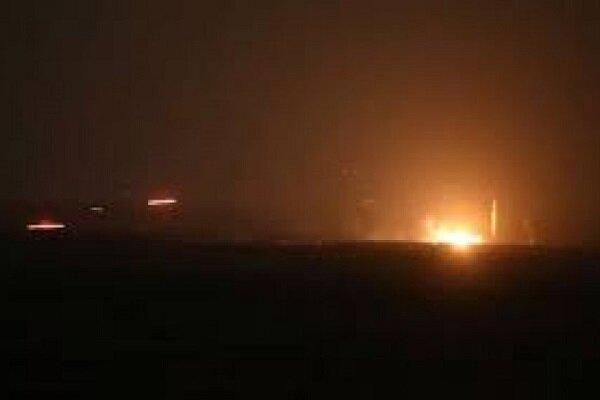 دفاعات الجو السورية تتصدى لغارة صهيونية في محيط دمشق