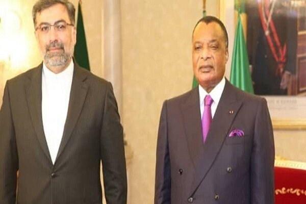 Iranian envoy submits credentials to President of Congo