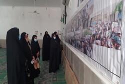 نمایشگاه عکس بصیرت به مناسبت سالروز حماسه ۹ دی در باشت برگزار شد