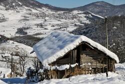 برف مهمان مناطق کوهستانی گلستان/ دما ۸ درجه کاهش می یابد
