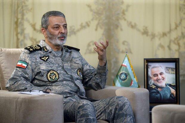 Iranian Army region's superior drone power