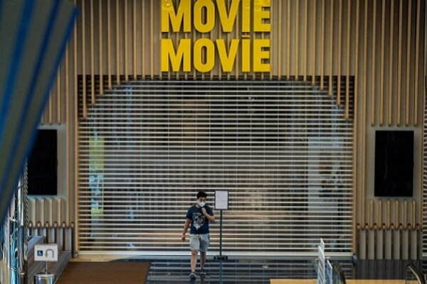 سینماهای تایپه برای نخستین بار در دوران کرونا تعطیل شدند