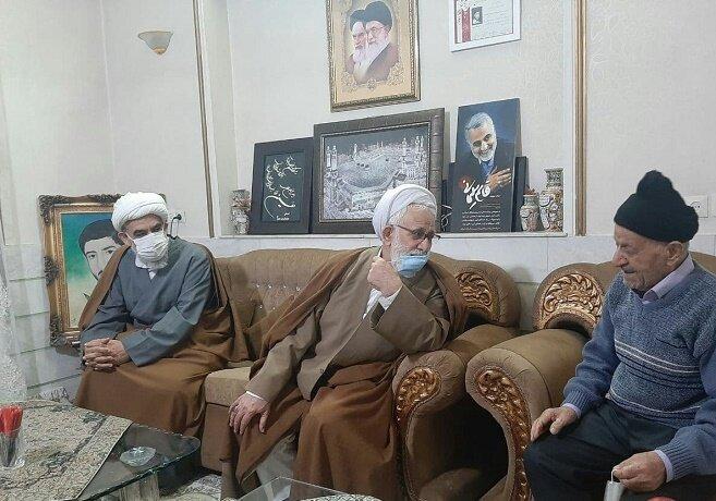 دیدار نماینده ولی فقیه در بنیاد شهید با خانواده شهدا و ایثارگران