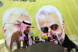 Suriye'de Şehit General Süleymani anıldı