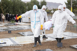 کرونا ۲۵ نفر را در اردبیل به کام مرگ کشاند
