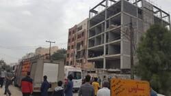 نشت گاز عامل حادثه انفجار ساختمان کیانپارس اهواز/تکذیب شایعات