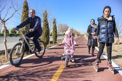 احداث مسیر دوچرخه از توحید تا صادقیه