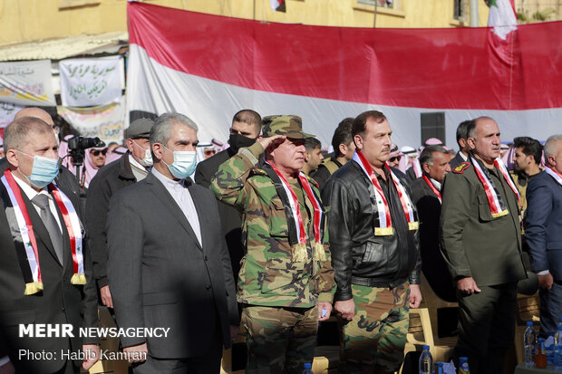 Martyrdom anniversary of martyrs of resistance held in Syria