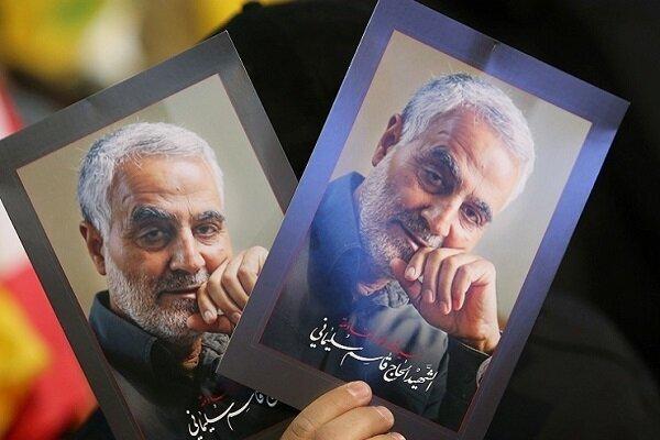 مراسم إحياء الذكرى الأولى لإستشهاد قادة النصر في طهران