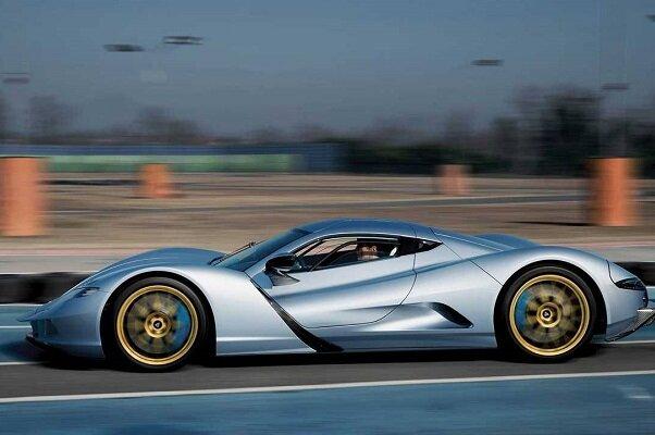 تولید خودروی برقی با شتاب صفر تا صد ۱.۷۲ ثانیه