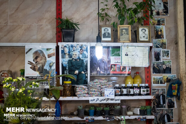 İranlılar Şehit General Süleymani'yi gönüllerinde yaşatıyor