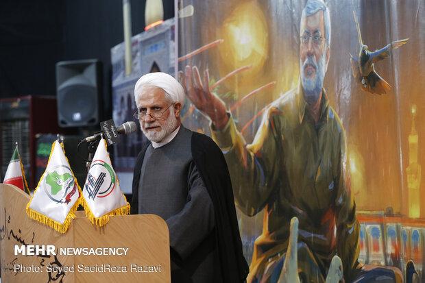 مراسم سالگرد شهادت سرداران رشید مقاومت اسلامی در دولت آباد تهران