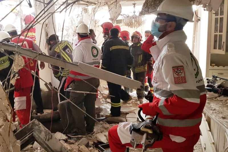 انفجار گاز در اهواز ۱۲ مجروح بههمراه داشت