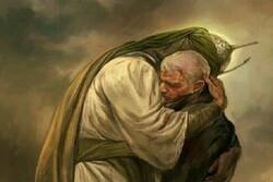 لحظه سالگرد عروج شهید سلیمانی در جوار مرقد مطهر شهدای مقاومت