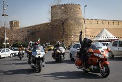Şiraz'da Şehit General Süleymani için konvoy düzenlendi