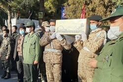 تشییع شهدای گمنام در استان سمنان/ رُستن لالهها بر خاک شهیدستان