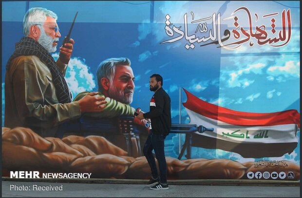 آماده سازی شهرهای عراق برای بزرگداشت شهادت سردار سلیمانی و ابومهدی المهندس