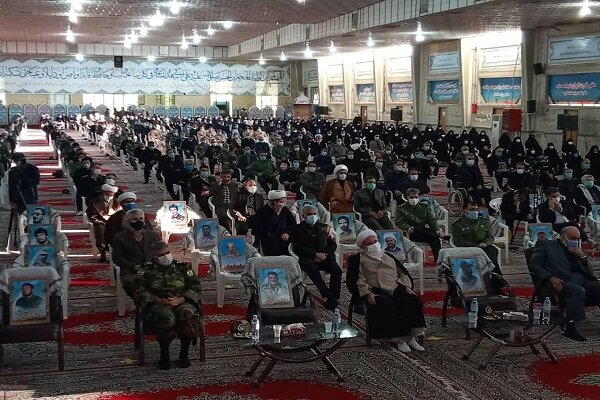 مراسم نخستین سالگرد سردار دلها در کرمانشاه برگزار شد