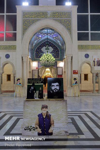 Ceremony of Gen. Soleimani, Abu Mahdi al-Muhandis in Syria