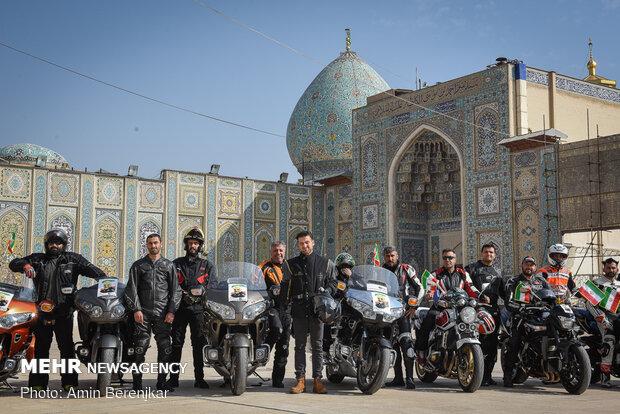 Şiraz'da Şehit General Süleymani için konvoy