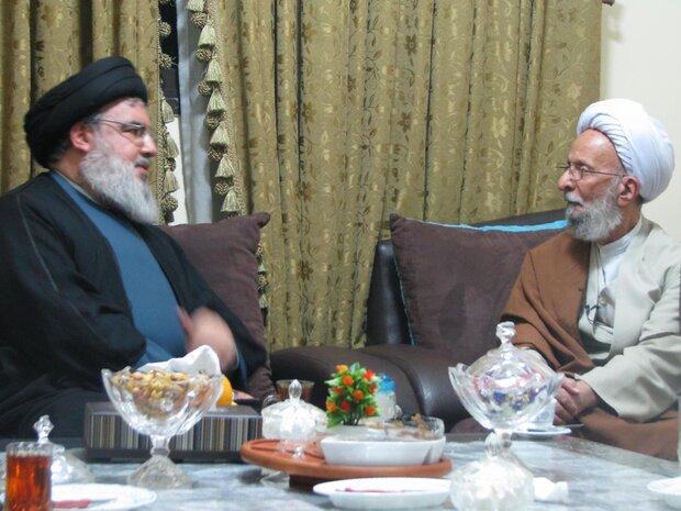 حزب الله يعزي بوفاة سماحة آية الله مصباح يزدي