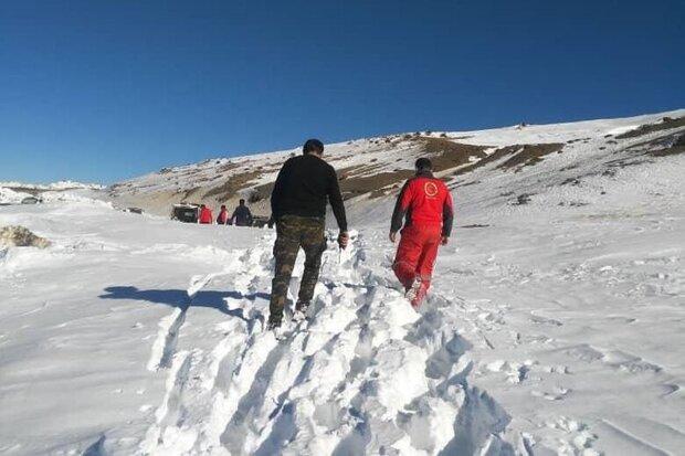نجات ۲ کوهنورد گمشده در گلستان بعد از ۱۸ ساعت جستجو