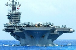 Pentagon says USS Nimitz to stay in Persian Gulf