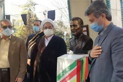 سالگرد شهادت سردار سلیمانی در مزار شهدای گمنام دانشگاه علوم پزشکی ایران برگزار شد