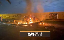 فیلم جدیدی از لحظه ترور حاجقاسم