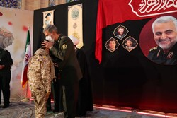 گرامیداشت سالگرد شهادت سردار سلیمانی در دانشگاه امام حسین(ع)