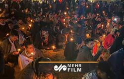 مراسم بزرگداشت شهدای مقاومت در مقتل حاج قاسم و ابومهدی