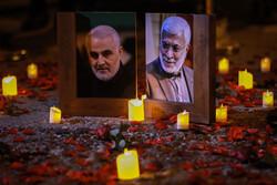 بزرگداشت سرداران شهید مقاومت در محل شهادت آنها