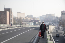 کیفیت هوای تهران در آستانه ورود به شرایط ناسالم قرار دارد