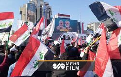 حضور گسترده مردم در میدان التحریر عراق