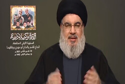 Nasrallah praises Iran's unconditional support to resistance