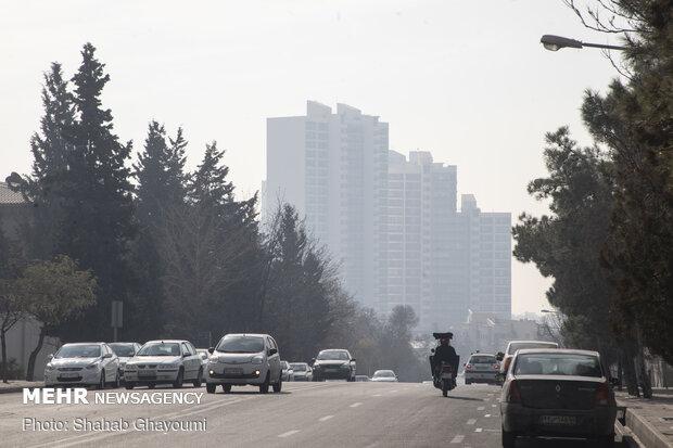ذرات معلق کیفیت هوای تهران را باز هم کاهش دادند