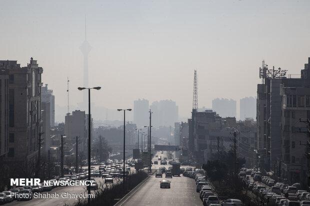 Severe air pollution hits Tehran
