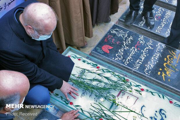 Ghalibaf pays tribute to martyr Soleimani