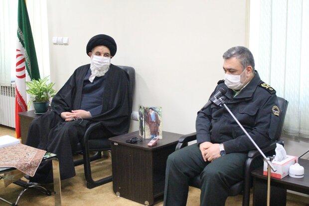 نیروی انتظامی با تمام ظرفیت خود حافظ ارزشهای انقلاب است