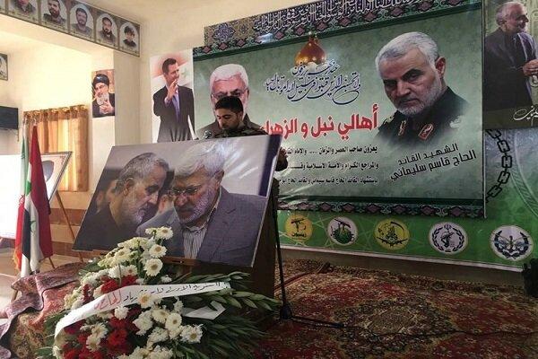 أهالي بلدتي نبل والزهراء يحيون ذكرى استشهاد قادة النصر
