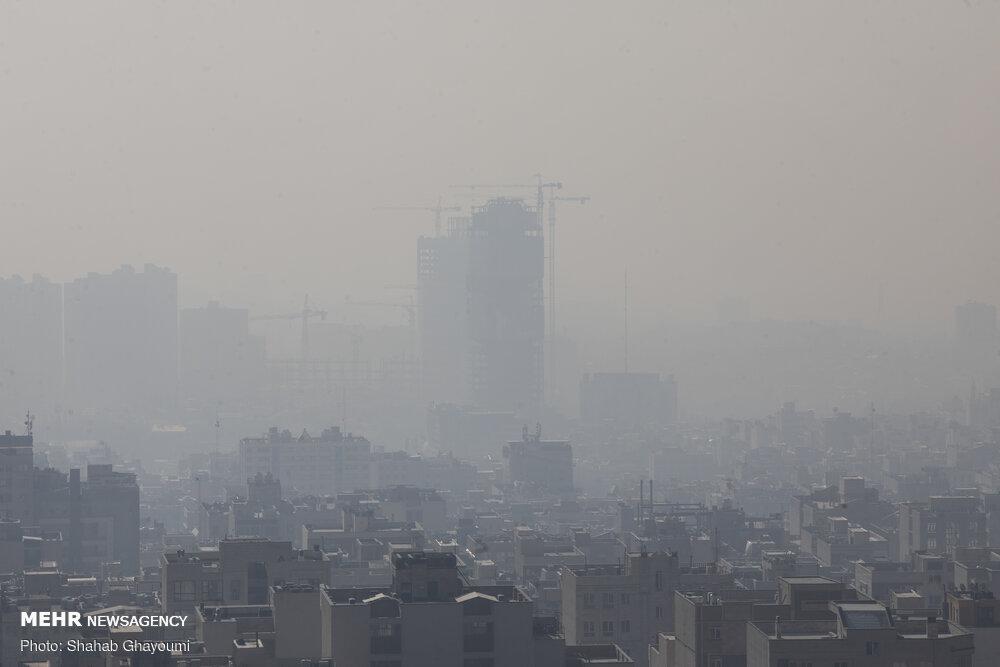اطلاعیه مرکز پایش آلودگی هوای محیط زیست استان تهران