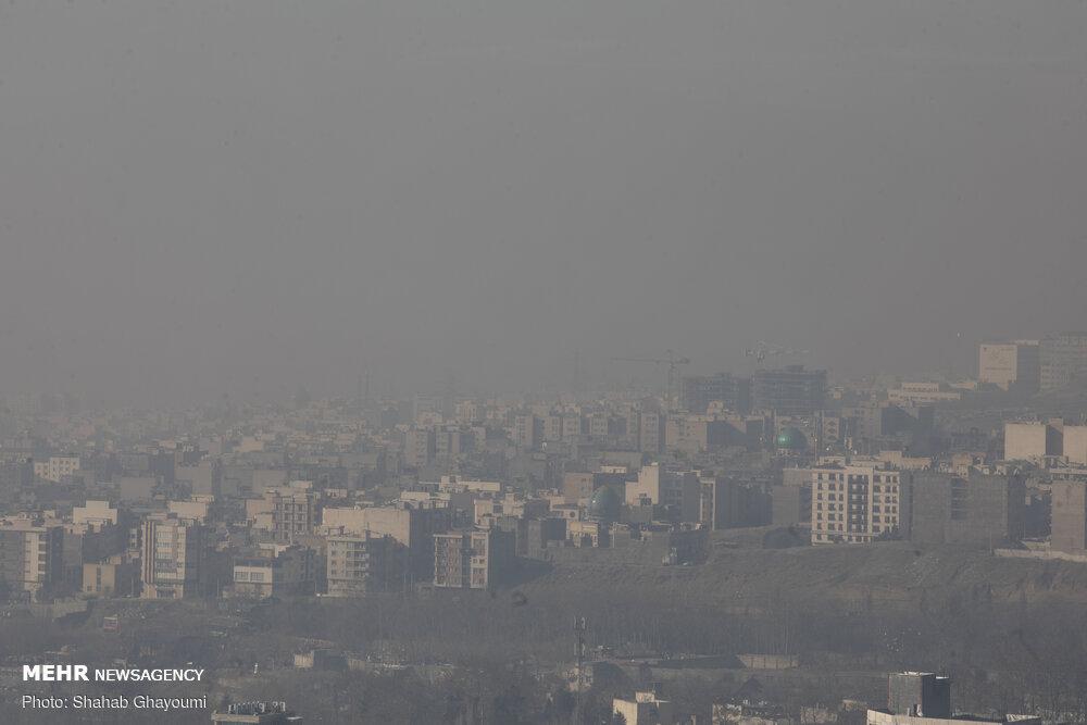 کیفیت هوا در محدوده سوهانک در شرایط بسیار ناسالم است