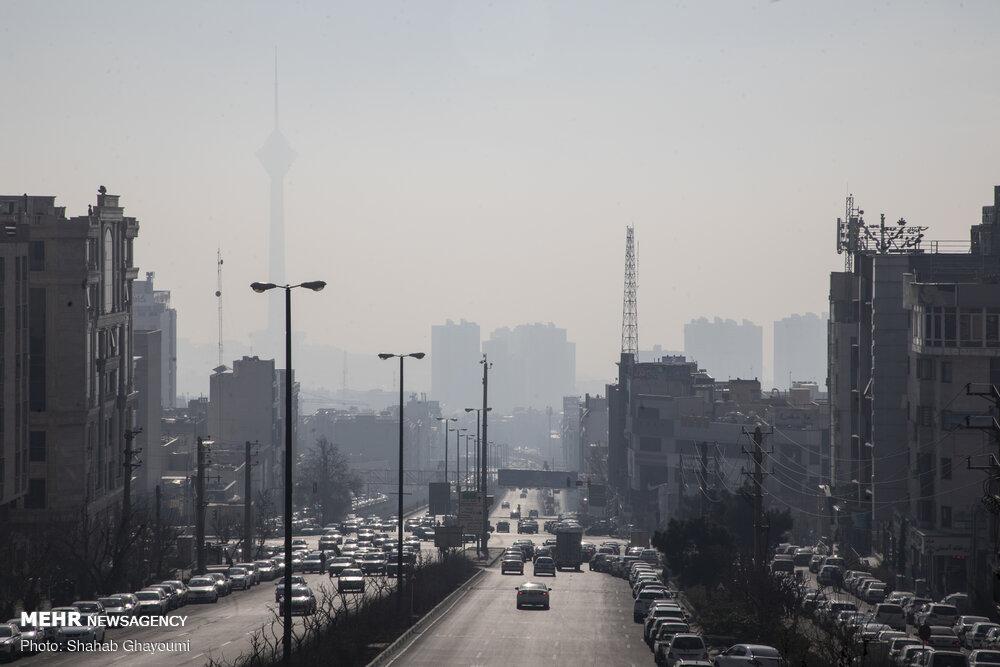 نمایش مستقیم آلایندههای تهران از طریق ۳۵ ایستگاه سنجش آلودگی هوا