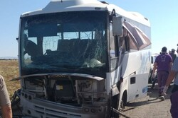 9 dead, 4 wounded in terror attack on bus in Syria's Hama