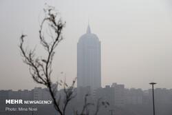 آلودگی هوا در برخی مناطق تهران از ۲۰۰ عبور کرد/اعلام شاخص شهرها
